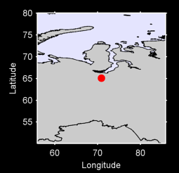 65.09 N, 70.85 E Local Context Map