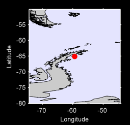 65.09 S, 59.36 W Local Context Map