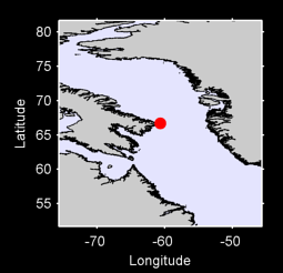66.70 N, 60.67 W Local Context Map