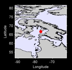 66.70 N, 76.85 W Local Context Map