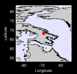 68.31 N, 69.40 W Local Context Map
