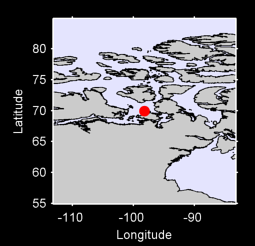 69.92 N, 98.18 W Local Context Map