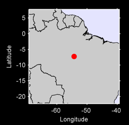 7.23 S, 54.32 W Local Context Map
