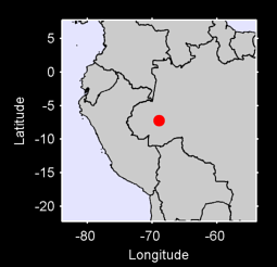 7.23 S, 68.92 W Local Context Map