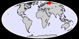73.13 N, 105.23 E Global Context Map