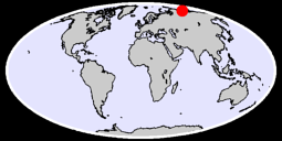 73.13 N, 121.85 E Global Context Map