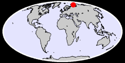 73.13 N, 72.00 E Global Context Map