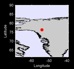 76.35 N, 54.34 W Local Context Map