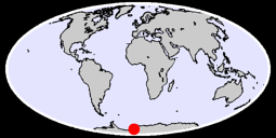 76.35 S, 13.58 W Global Context Map