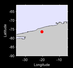 76.35 S, 20.38 W Local Context Map