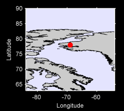 77.96 N, 68.94 W Local Context Map