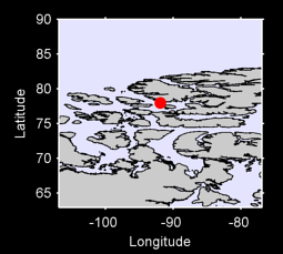 77.96 N, 91.91 W Local Context Map