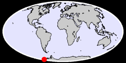 77.96 S, 153.19 W Global Context Map