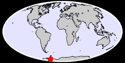 77.96 S, 99.57 W Global Context Map