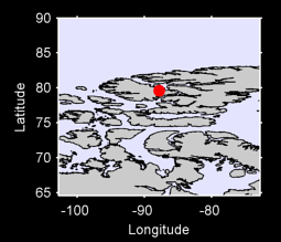 79.58 N, 87.80 W Local Context Map