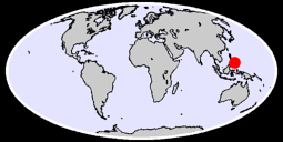 8.84 N, 125.68 E Global Context Map