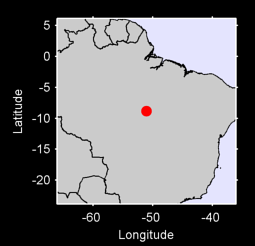8.84 S, 51.08 W Local Context Map
