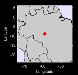 8.84 S, 59.19 W Local Context Map