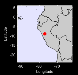 8.84 S, 77.03 W Local Context Map