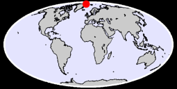 81.19 N, 15.88 W Global Context Map