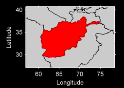 Afghanistan Local Context Map