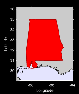 Alabama Local Context Map