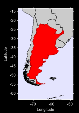 Argentina Local Context Map