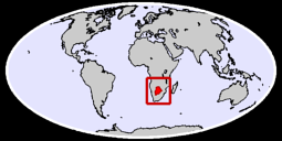 Botswana Global Context Map