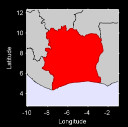 Côte d'Ivoire Local Context Map