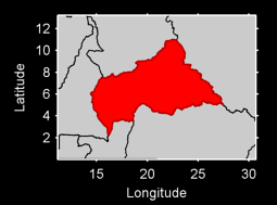 Central African Republic Local Context Map