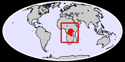 Congo (Democratic Republic of the) Global Context Map