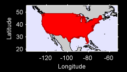 Contiguous United States Local Context Map