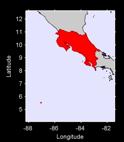 Costa Rica Local Context Map