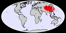 Eastern Asia Global Context Map