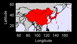 Eastern Asia Local Context Map
