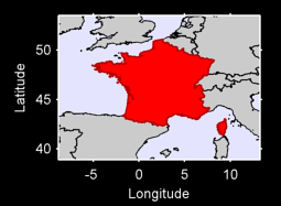 France (Europe) Local Context Map