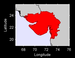 Gujarat Local Context Map