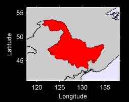 Heilongjiang Local Context Map