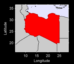 Libya Local Context Map