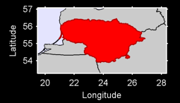 Lithuania Local Context Map