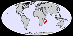 Mayotte Global Context Map