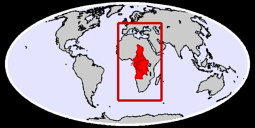 Middle Africa Global Context Map