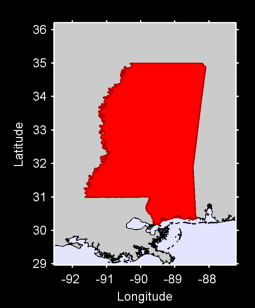 Mississippi Local Context Map