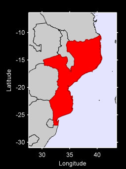 Mozambique Local Context Map