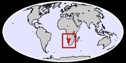 Namibia Global Context Map