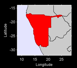 Namibia Local Context Map