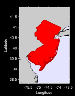 New Jersey Local Context Map