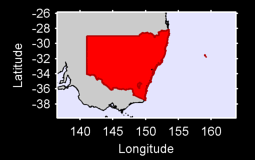 New South Wales Local Context Map