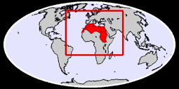Northern Africa Global Context Map