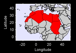 Northern Africa Local Context Map